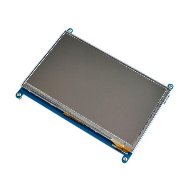 شاشة 7 بوصة راسبيري pi 3 B تعمل باللمس 1024*600 7.0 بوصة IPS بالسعة شاشة LCD تعمل باللمس ، واجهة HDMI ، يدعم أنظمة مختلفة