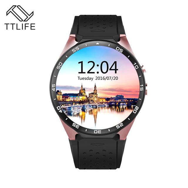 TTLIFE бренд Android 5.1 Смарт часы 1.39 дюймов 400*400 SmartWatch телефон GPS, 3 г Wi-Fi 2.0MP Камера сердце Скорость Reloj inteligente