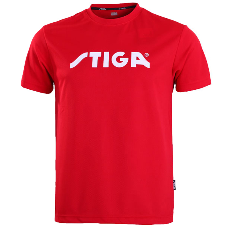 Original Stiga  Table Tennis Shirt Sport Jerseys  Badminton Jersey  Tennis Masculino  Mujer shorts(China)