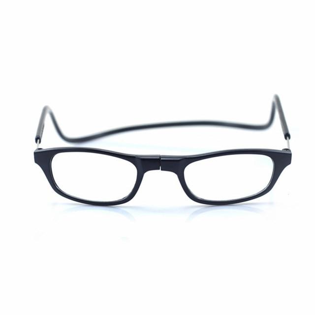 c95bb10dde Magnética Gafas para leer hombres mujeres colgante Masajeadores de cuello plegable  Gafas magnética marcos imán gafas