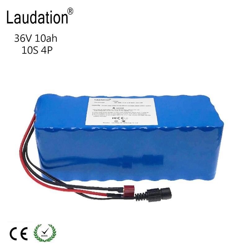 36 V 10ah vélo électrique batterie pack 18650 Li-Ion batterie 500 W haute puissance et capacité 42 V moto Scooter + BMS