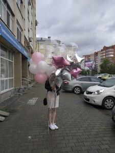 Image 5 - 12pcs 2.3g Pink White 2.8g Transparent Balloons Latex Helium Happy Birthday Party Supplies Baby Shower Wedding Decro Balls