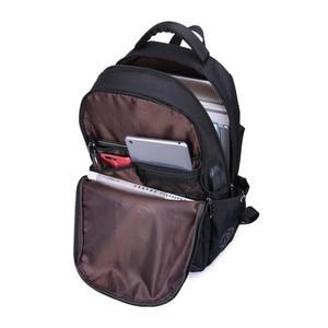 Image 5 - Uomini zaino sacchetti di scuola per i ragazzi di scuola zaino uomini borse da viaggio zaino sacchetti di spalla per i bambini bagback borsa del computer portatile nero 15.6