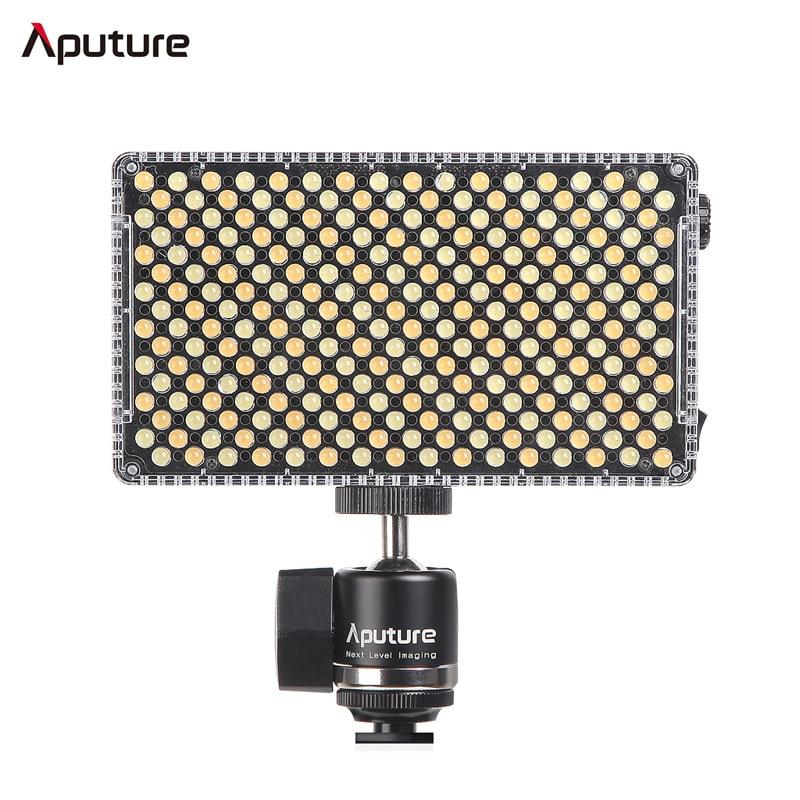 Aputure Amaran AL F7 On Camera LED Video light Bi Color Temperature 3200 9500K CRI TLCI
