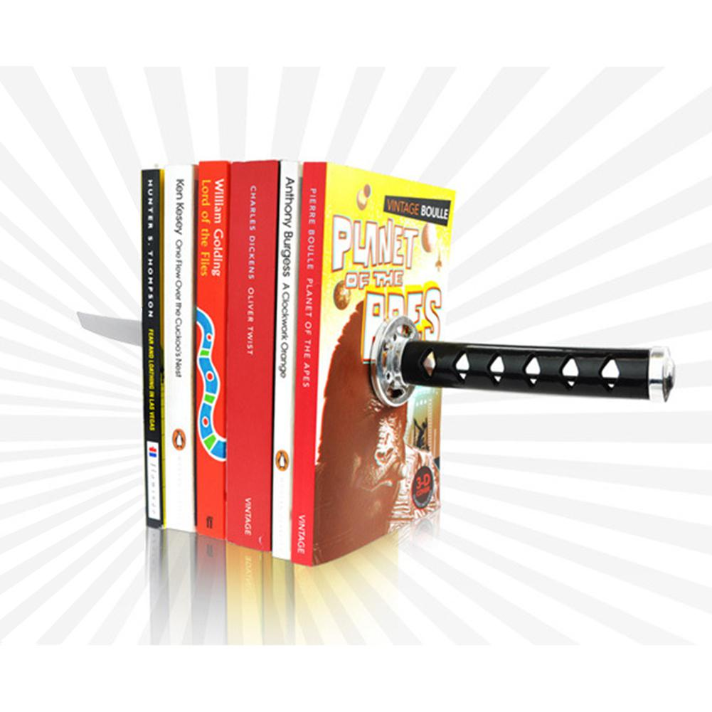 Books Frame Bookends Books Bracket  Creative Katana Design Students Children R20
