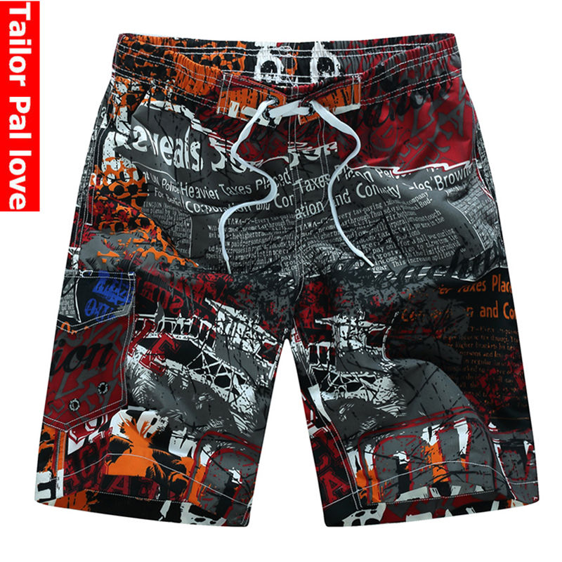 Mens Quick Dry Swim Trunks Rainbow Swim Trunk Board Shorts With Pockets