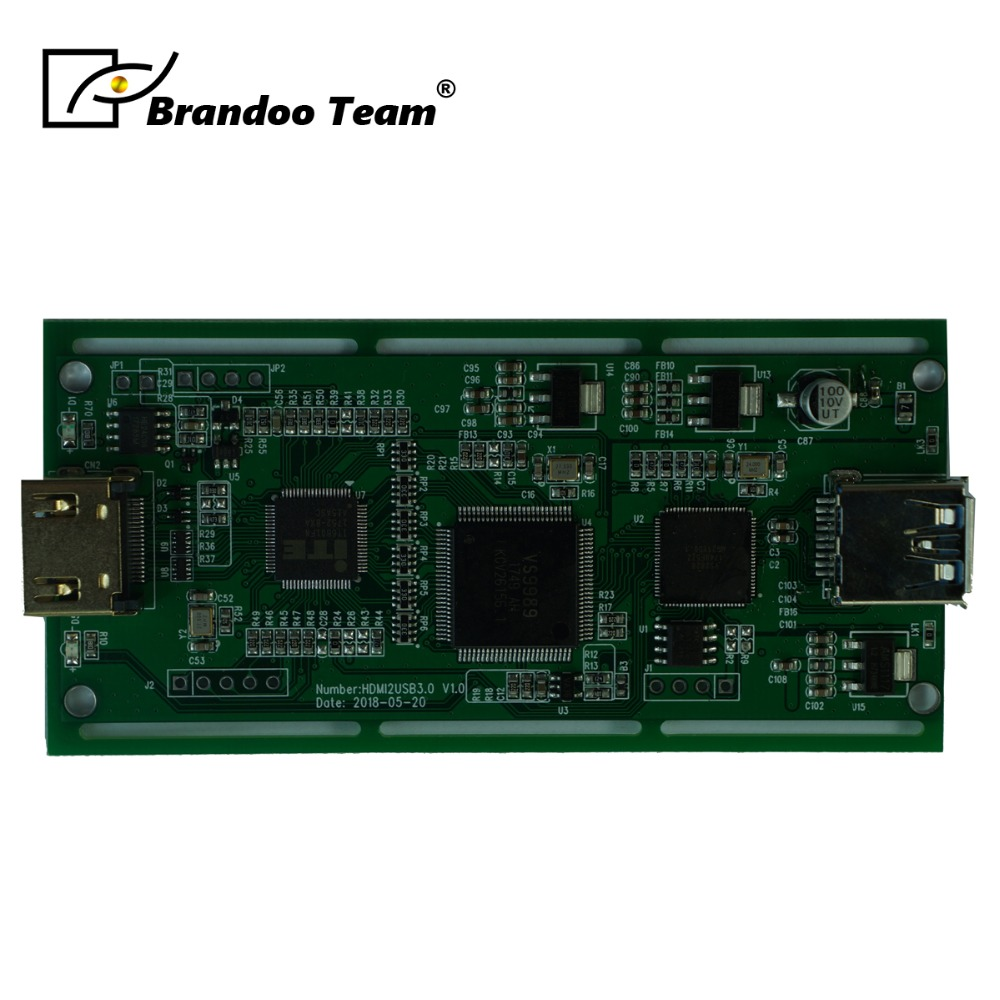 USB 3.0 HD Capture Dongle Module HDMI Input To USB 3.0 Output Adapter Converter PCBA  Board