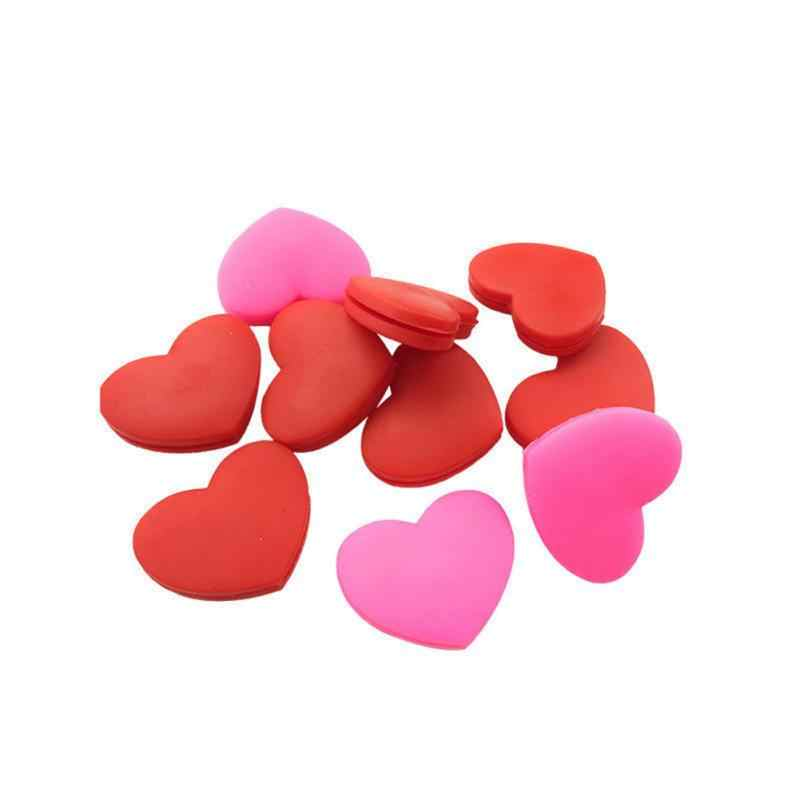 2PC Heart-Shaped Tennis Racket Shock Absorber Vibration Dampeners 2 Colors Sports Accessories Hot Sale High Quality