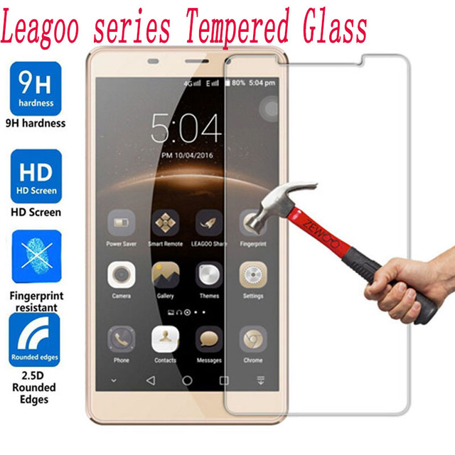 2PCS Screen Protector mobile phone For Leagoo M5 Plus M8 M9 Pro KIICAA Power MIX T5 T5C  Tempered Glass Film Protective Screen