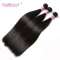 Peruvian Straight Hair Human Hair Bundles Peruvian Hair Extension Non Remy Hair 1B Natural Black 1