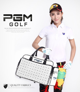 New PGM golf clothes bag style clothes bag waterproof PU bag large capacity independent shoe bag