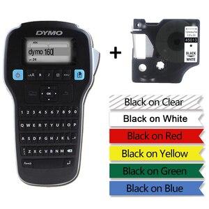 Image 1 - DYMO LM160 maszyna do etykietowania angielski ręczny, przenośny drukarka etykiet LMR 160 nalepka etykieta drukarka etykiet 45013 40913 45018 43613 45010