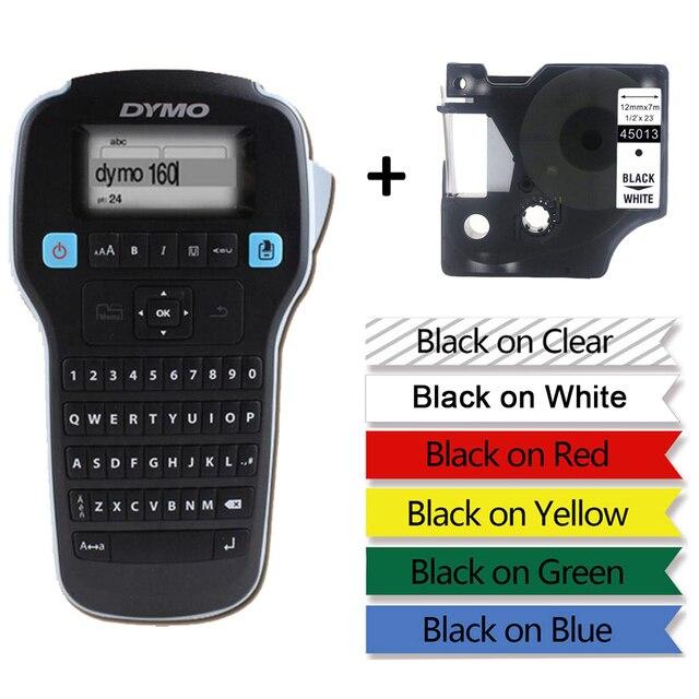 DYMO LM160 maszyna do etykietowania angielski ręczny, przenośny drukarka etykiet LMR 160 nalepka etykieta drukarka etykiet 45013 40913 45018 43613 45010