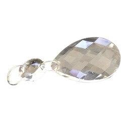 10 pçs/lote 50mm bauhinia clear arte gotas de vidro pingente lustre lâmpada pendurado prismas multi facetadas contas casa xmasmasdecoração 40