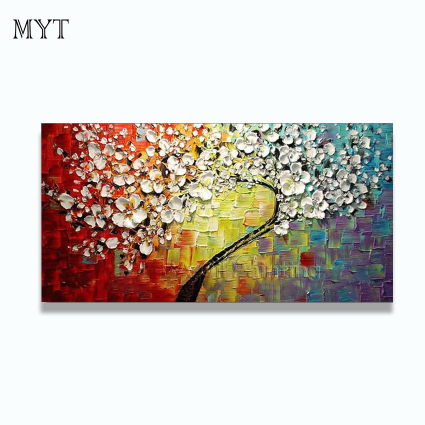 Wall art abstract paintings modern oil painting on canvas for Art painting for home decoration