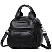 2017 Vintage Pu Leather Backpack For Teenage Girls Quilted Small Women Backpack Youth Cute Small Schools
