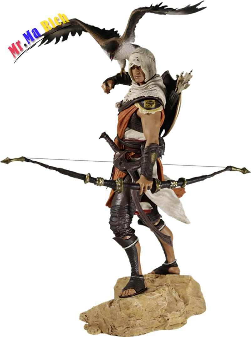 Anime 25 Cm Assassin 's Creed Origini Bayek Action Pvc Figure Collection Model Toy Doll 27cm play arts kai movable figurine assassin s creed edward pvc action figure toy doll kids adult collection model gift