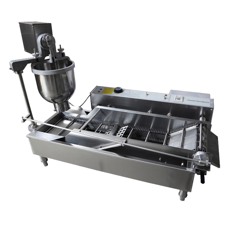T100 Electric Commercial Automatic Donut Machine_ Donut Fryer_ Donut Maker