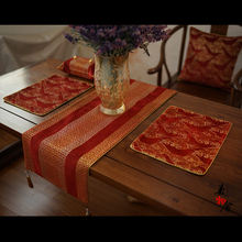 ФОТО thick table runner europe back shape stripes wedding tablecloth cloth luxury embroidery room sofa home hotel bedding decoration