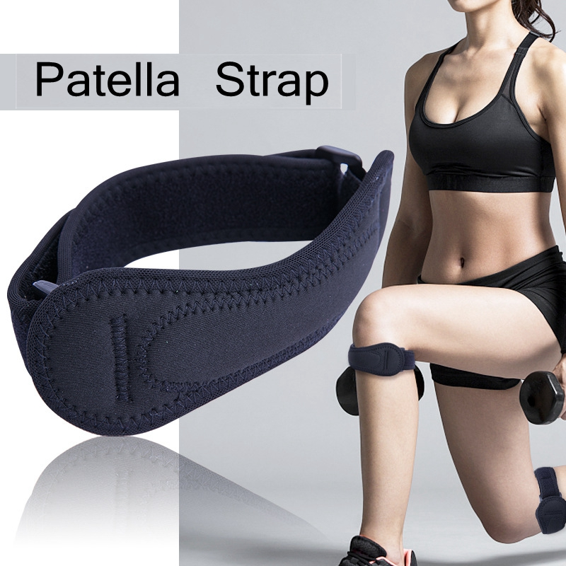 1Pc High Quality Adjustable Patella Knee Tendon Strap Protector Guard Support Pad Belted Sports Knee Brace kneecap