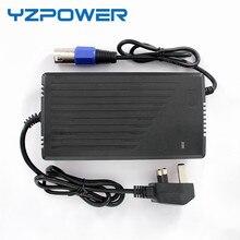YZPOWER 36 V 5.5A 4.5A 5A Carregador de Bateria de Chumbo Ácido para Cadeira De Rodas De Bicicletas com Ventilador de Refrigeração