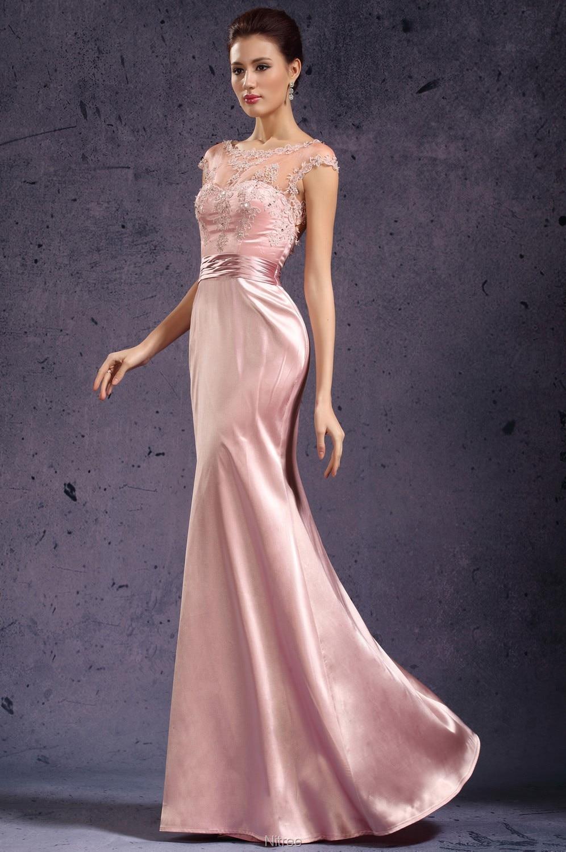 Único Color Rosa Vestidos De Novia Componente - Vestido de Novia ...