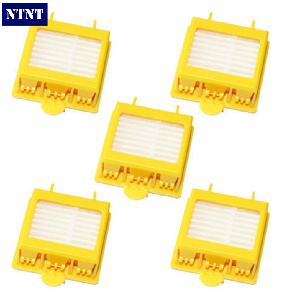 NTNT Free Post New 5 x Hepa Filter filters For iRobot Roomba 700 Series 760 770 780