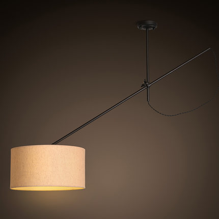 купить Nordic Designer Art Restaurant Pendant Light Creative Rotatable Arm Bar Hanging Light Fixtures With E27 Led Bulbs Free Shipping недорого