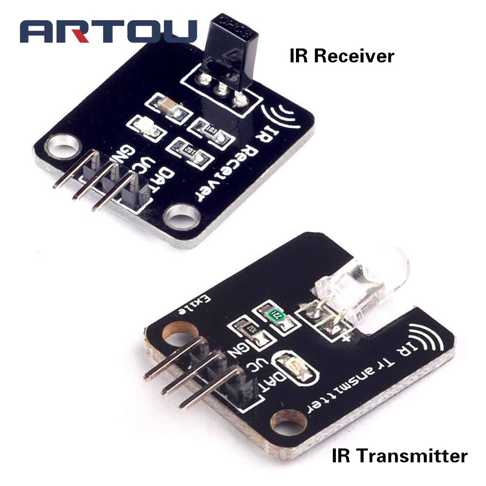 1set/lot IR Infrared Transmitter Module IR Digital 38KHz Infrared Receiver Sensor Module For Arduino Electronic Building Block