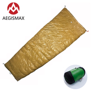 AEGISMAX LIGHT Goose Down Sleeping Bag Portable Lightweight Lazy Bag For Outdoor Sleeping Travel Camping Backpacking Hiking