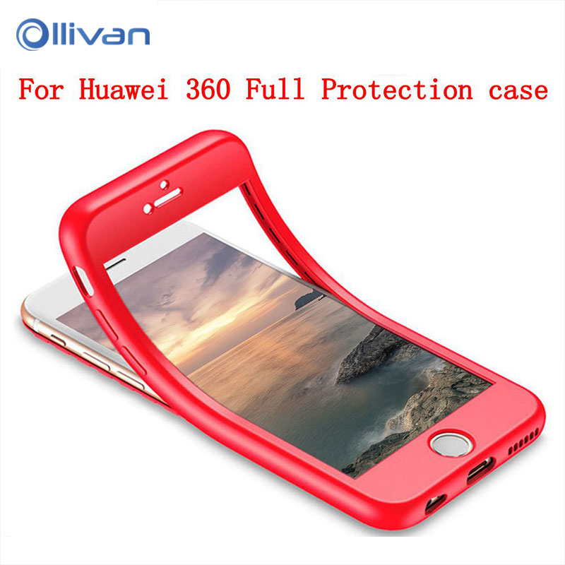 <font><b>360</b></font> Degree Full Cover TPU Silicone <font><b>Case</b></font> For <font><b>Huawei</b></font> P20 P10 P8 P9 Lite Mate 20 10 Pro Y5 <font><b>Y6</b></font> Y7 Prime 2018 Honor 10 P Smart <font><b>2019</b></font> image