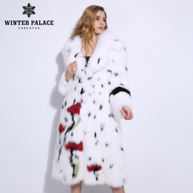 Printemps et automne nouveaux produits fourrure de renard veste d'herbe femmes Long gilet taille unique sans manches gilet V-1806
