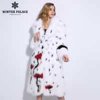 Spring and Autumn New Products Fox Fur Grass Jacket Women's Long Vest One Size Sleeveless Vest  V-1806