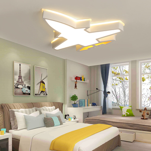 Image 2 - ילדי ילדי חדר תאורה מודרני תקרת מנורת plafondlamp led תינוק חדר שינה מחקר חדר Luminaria LED תקרת אורות