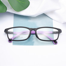 BAONONG Contracted Design Ultralight TR90 Full Rim Optical Glasses Frames For Boy and Girl Prescription Eyeglasses M8037(China)