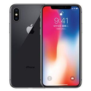 Image 2 - Original Apple iPhone X Face ID 64GB/256GB ROM 5.8 inch 3GB RAM 12MP Hexa Core iOS A11 Dual Back Camera 4G LTE Unlock iphonex