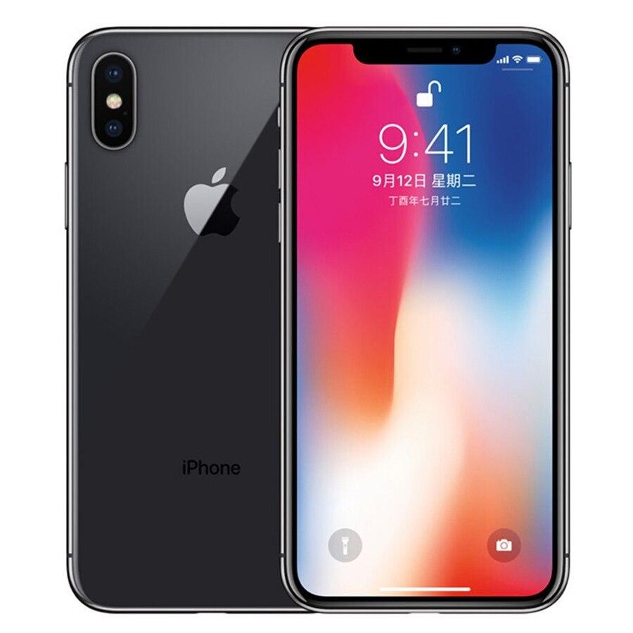 Original Apple iphone X Face ID 64 GB/256 GB ROM 5.8 pouces 3GB RAM 12MP Hexa Core iOS A11 double caméra arrière 4G LTE déverrouiller iphone x - 2