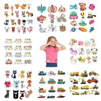 cute-small-animal-cars-clothes-decors-lot-iron-on-patches-kids-diy-clothing-set-patches-cartoon-cats-iron-on-applique-s-zh01