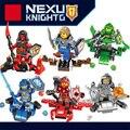 Nexus caballeros caliente mini aerocraft building block arcilla macy aaron robin lanza ladrillos devil armas compatible legoeinglys. juguetes