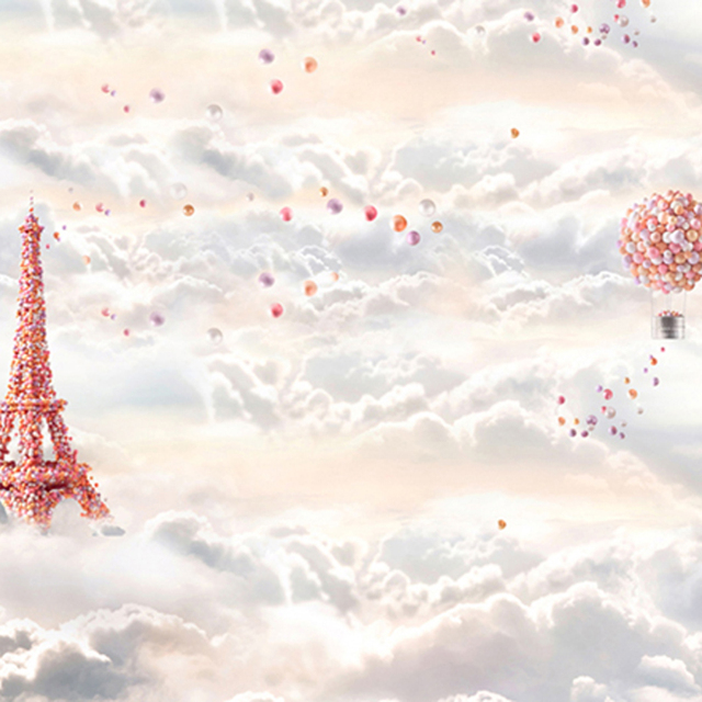 Baby newborn backgrounds for photo studio colorful balloons tower baby newborn backgrounds for photo studio colorful balloons tower and flying hot air balloon cloud voltagebd Gallery