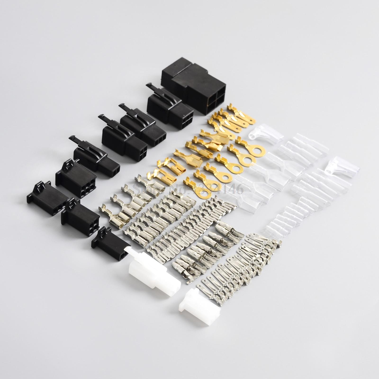 hight resolution of universal motorcycle wiring harness loom repair kit plugs bullet connectors for honda yamaha suzuki kawasaki