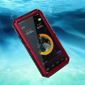 Image 4 - Premium Shockproof IP68 Waterproof Full Protection Aluminum Metal Doom Cover Case For Apple iPhone XR X XS Max 8 7 6 6s Plus