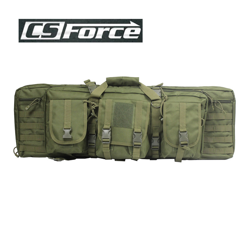 CS Force 1000D Nylon 100cm Military Hunting Backpack for 385 Rifle Square Carry Bag Gun Protection Case Backpack 85cm 100cm 120cm tactical hunting backpack dual rifle square carry bag with shoulder strap gun protection case backpack
