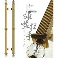 Современный клуб стекло дверной ручки / европейский корабль деревянная дверь дверная ручка / китайский титана античная ручка