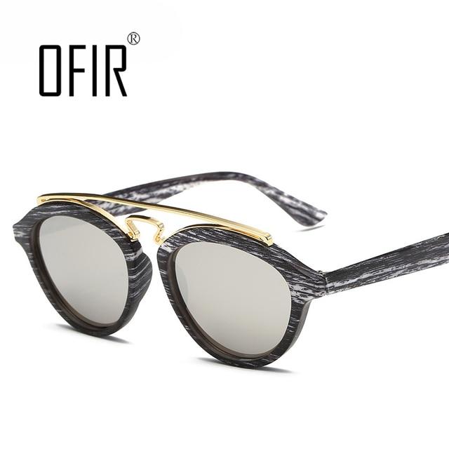 3913c36205c493 OFIR Nouveau Film de Couleur Femmes Hommes lunettes de Soleil Tendance De Double  Faisceau Lunettes de
