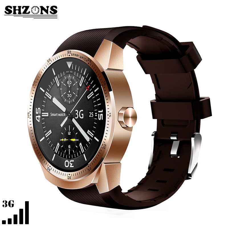 K98H 3G SIM Card Bluetooth WIFI GPS Smart Watch Support Heart Rate and Sleep Monitoring with the Anti-lost Finder For Man Women smart phone watch 3g 2g wifi zeblaze blitz camera browser heart rate monitoring android 5 1 smart watch gps camera sim card