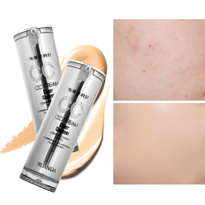 Yilianga bb creme gesicht make-up creme Konfrontiert Foundation Concealer creme Abdeckung bleaching Makel Natürliche foundation creme