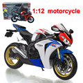 Alloy motorcycle 1:12 golden ratio children simulation toy car model car model boy's toy gift