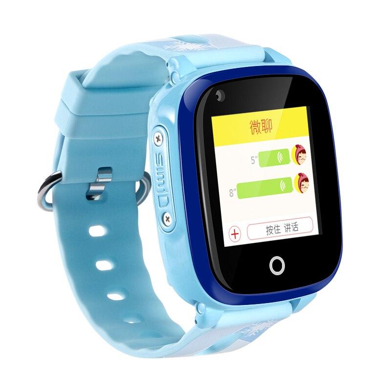 IP67 étanche Smart 4G caméra à distance GPS WI-FI enfants enfants étudiants montre-bracelet SOS appel vidéo moniteur Tracker localisation montre - 3