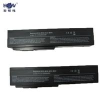 Bateria para Asus A32-m50 A33-m50 A32-n61 N61j G50 M50 M51 M60 M70 G51j G50v N43 N53 X55 X57 X64 X64 L50 VX5 G60 Bateria Akku